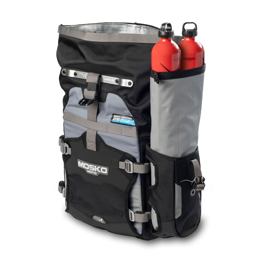 Mosko Moto Hardware Backcountry 25L Pannier (V2.0) - Dry Pocket
