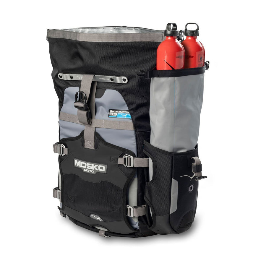 Mosko Moto Hardware Backcountry 35L Pannier (V2.0) - Dry Pocket