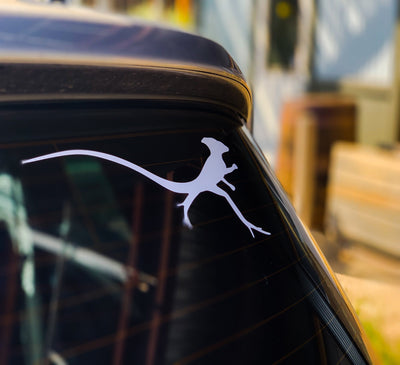 LIZARD XFER WINDOW DECAL