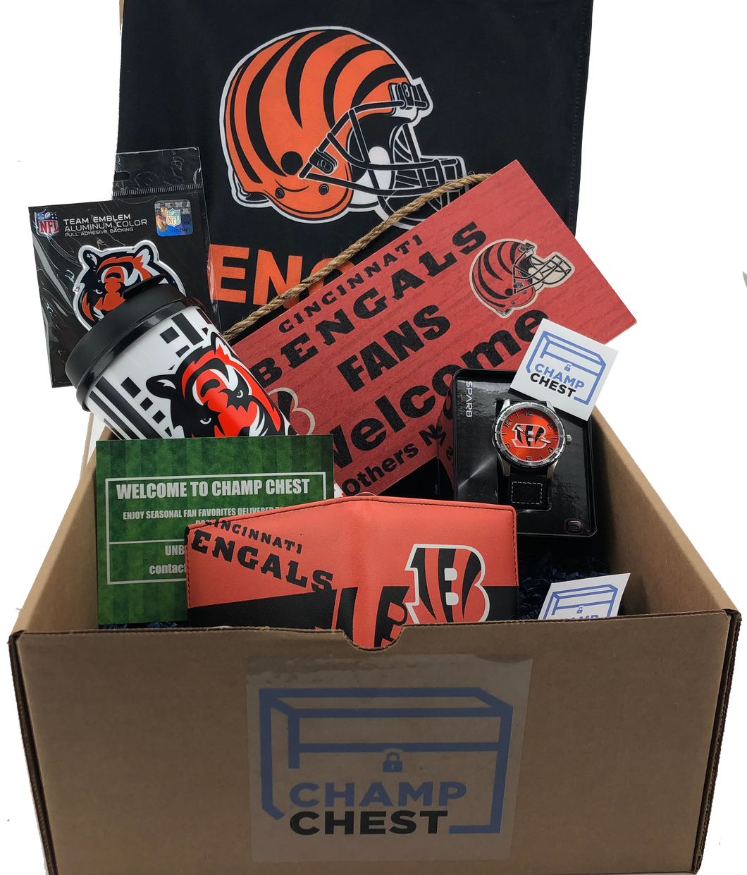 Cincinnati Bengals Subscription Box