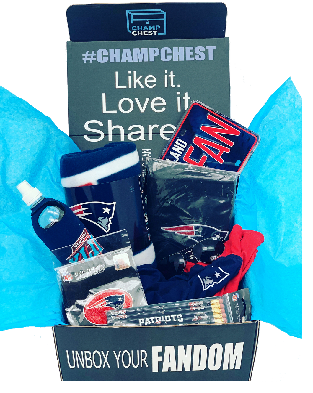 New England Patriots Champ Chest