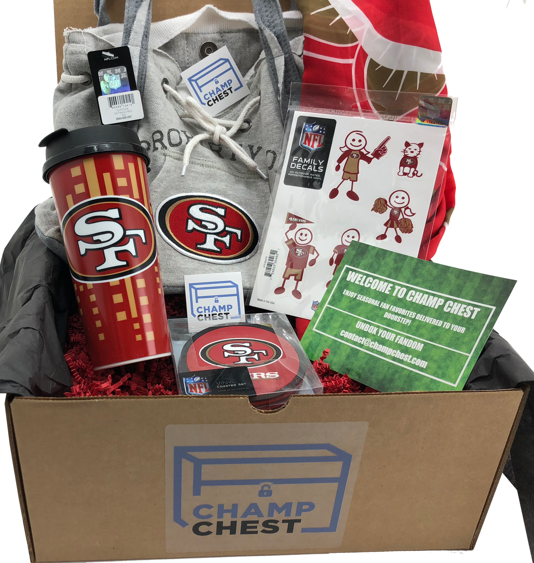 San Francisco 49ers Champ Chest
