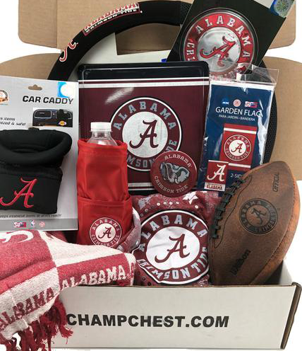 Alabama Crimson Tide Subscription Box