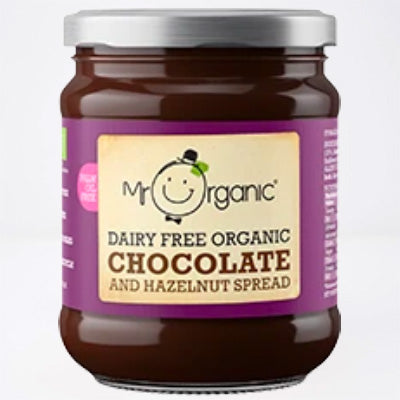 Mr Organic Dairy Free Organic Chocolate & Hazelnut Spread