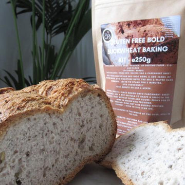 The Gluten Free Bakery Gluten Free Bold Buckwheat Bread Mix (250g)