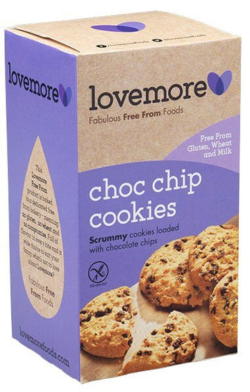 Lovemore Gluten & Dairy Free Chocolate Chip Cookies (150g)