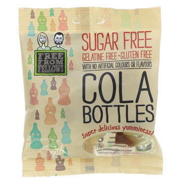 Free From Fellows Sugar Free Gluten Free Cola Bottles (100g)