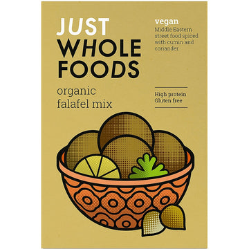Just Wholefoods Organic, Gluten Free & Vegan Falafel Mix (120g)