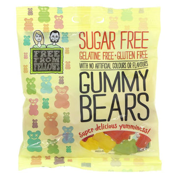 Free From Fellows Sugar Free Gluten Free Gummy Bears (100g)