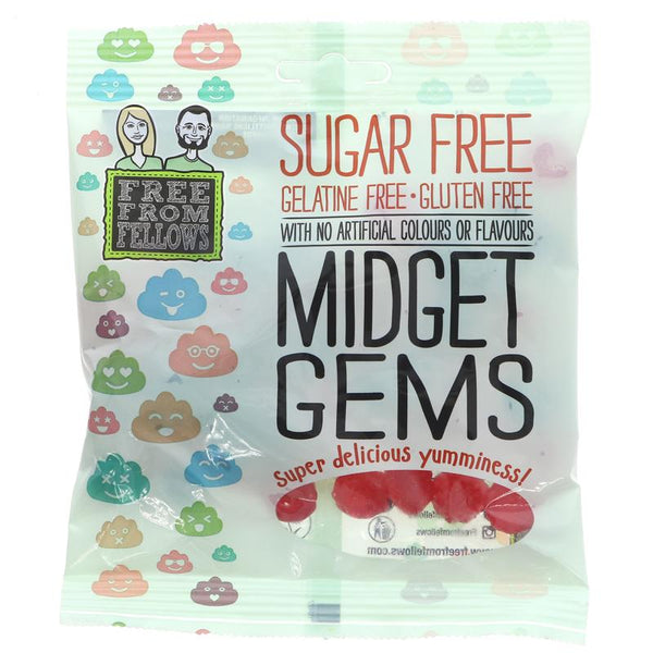 Free From Fellows Sugar Free Gluten Free Midget Gems (100g)