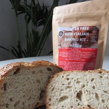 The Gluten Free Bakery Gluten Free Italian Sourdough Bread Mix (250g)