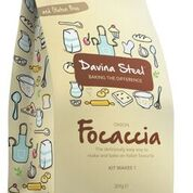 Davina Steel Gluten Free Onion Focaccia Bread Mix (309g)