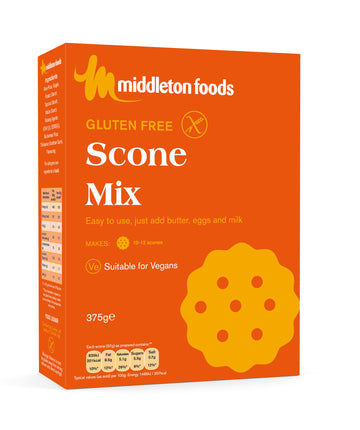 Middleton Foods Gluten Free Scone Mix (375g)