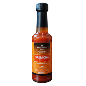 Westcountry Spice Gluten Free Organic Sriracha Hot Sauce (150ml)