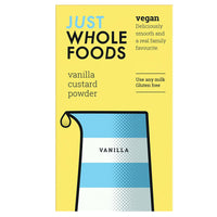Just Wholefoods Gluten Free Vegan Custard Powder (100g)