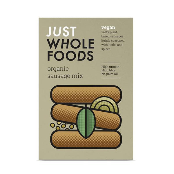 Just Wholefoods Organic & Vegan Sausage Mix (125g)