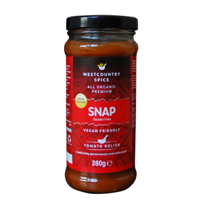 Westcountry Spice Gluten Free Organic Snap Relish (280g)