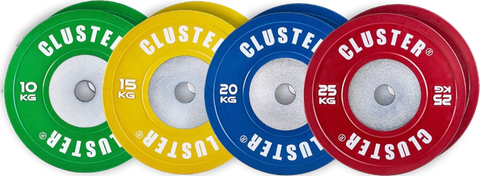 140KG COMPETITION PLATE SET (BUNDLE DEAL!) SAVE 25%