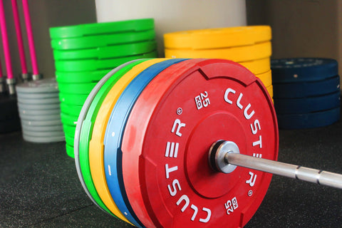 CLUSTER Colour Bumper Plate Set