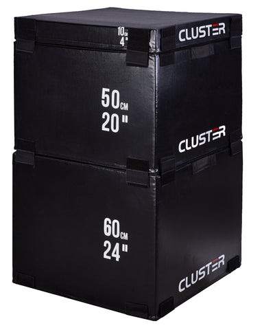 CLUSTER Foam Plyo Boxes