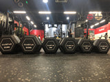 CLUSTER Hex Dumbbells 2.0 Black (2.5KG - 50KG)