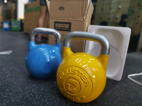 Multicolour-Competition Kettlebells (4kg - 36kg)