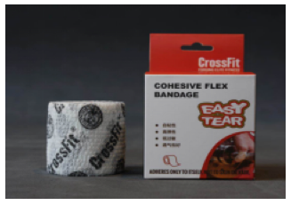 CrossFit China official authorization Cohesive Flex bandage