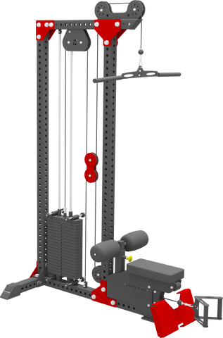 CLUSTER  Lat Pull Down/Low Row (STAND ALONE)