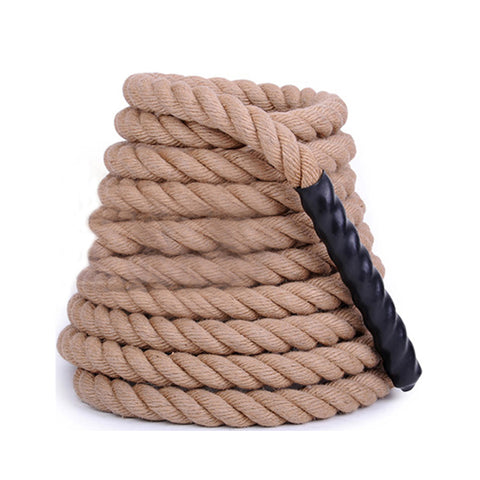 Cluster climbing rope