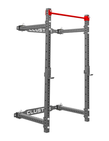Fold Back Wall Mount Rack