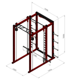 Multifunctional Power Rack - S (Smith Machine)