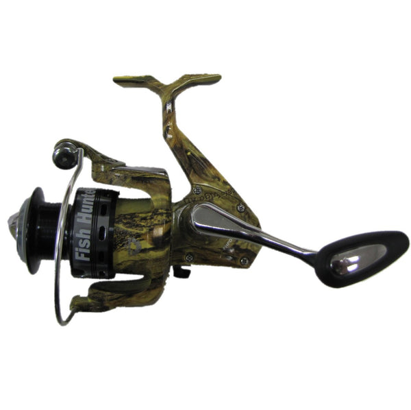 Jimmy Houston FISH HUNTER PRO REEL CAMO 4 BEARINGS