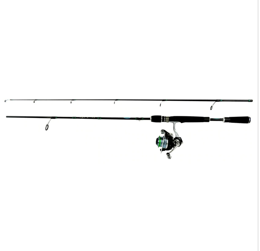 JIMMY HOUSTON ENFORCER 6' 2 PC MED-SPINNING COMBO SKU: JHXS-602MSC