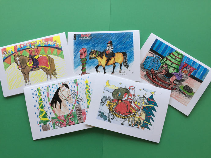 Pony Club Christmas Cards (set of 5)