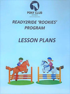 "Ready 2 Ride ""Rookie"" Lesson Plans"