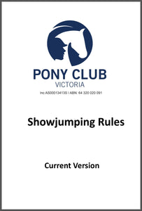 Rule Book - Showjumping