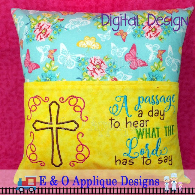Reading Book Pillow  Tutorial