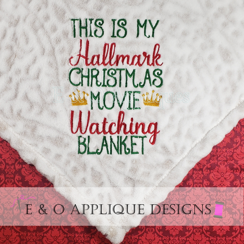 Hallmark Movie Watching Blanket vs 1