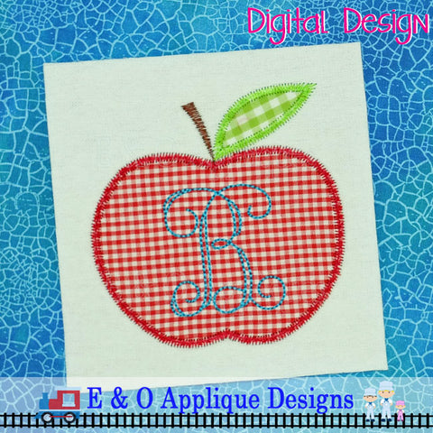 Apple Zig Zag Applique