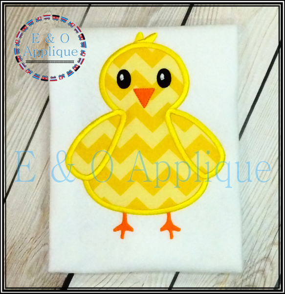 Chick Boy Applique