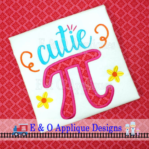 Cutie Pi Applique Design