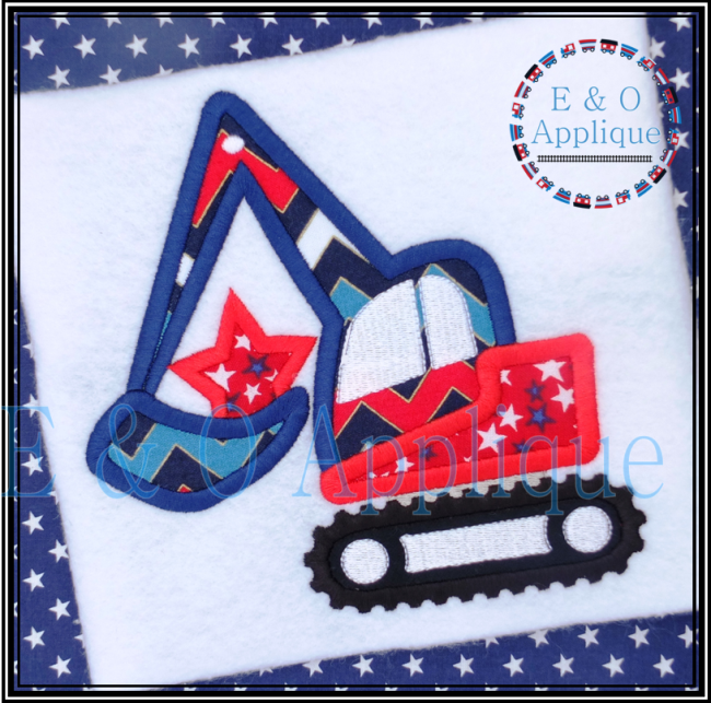 Digger Star Applique