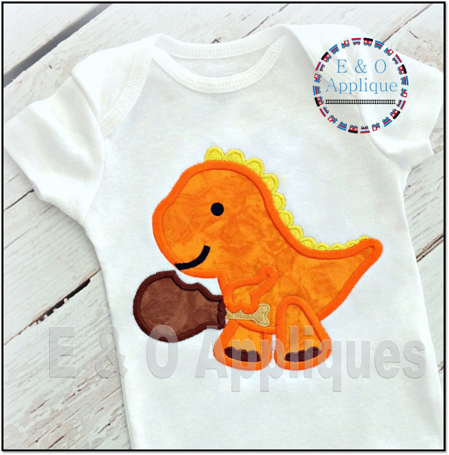Dino Turkey Leg Applique