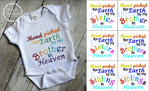 Hand picked for Earth Embroidery Design Set