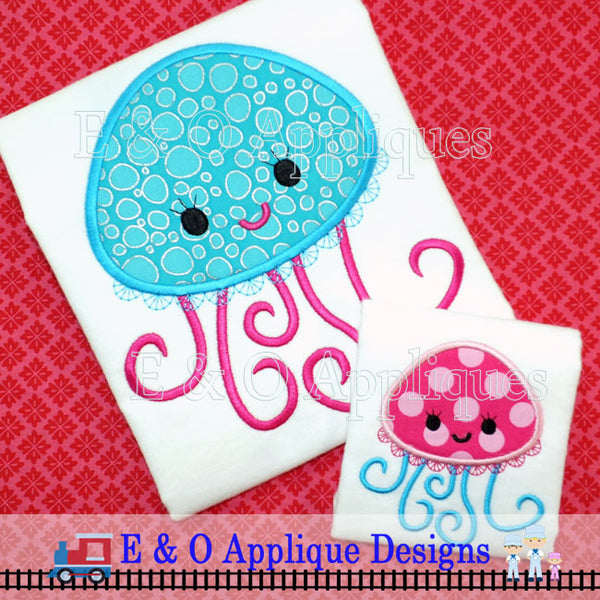 Jellyfish Applique Design