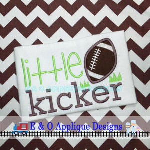 Little Kicker Digital Embroidery Design