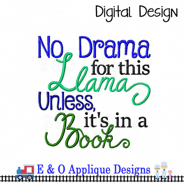 Llama Book Design Set With Free Bonus Design