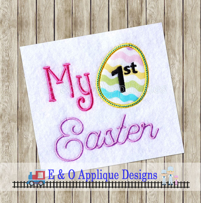 My First Easter Applique Design