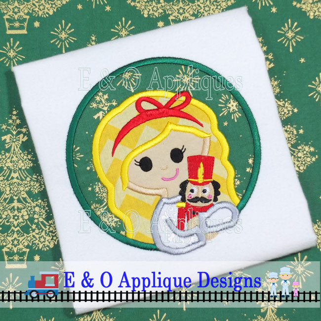 Clara Nutcracker Digital Applique Design