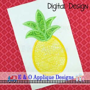 Pineapple Applique Design